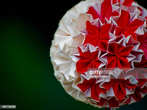 paper origami ball - 工芸品 ストックフォトと画像
