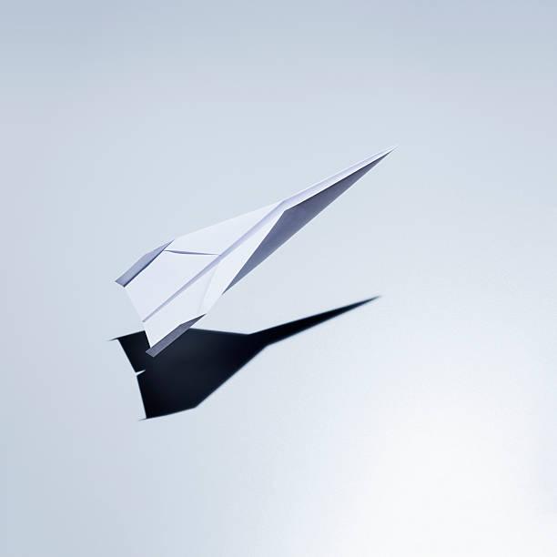 Paper Plane Taking Off Wall Art