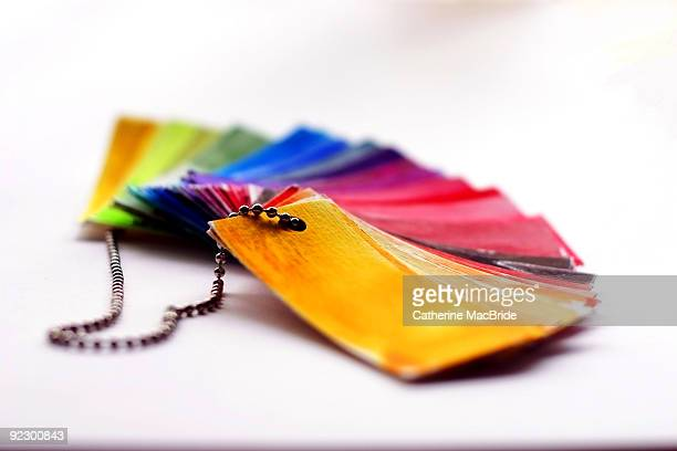 paper rainbow - catherine macbride stock pictures, royalty-free photos & images