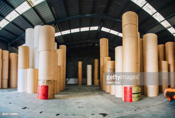 Paper roll warehouse