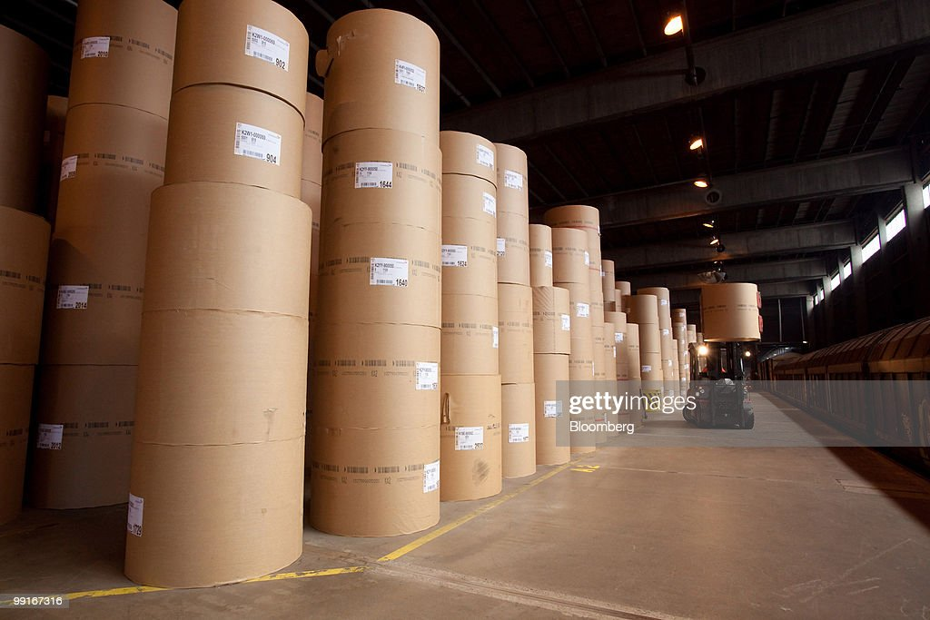 Stora Enso Paper Mill Production : News Photo