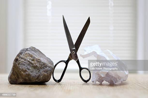 Paper Scissor and Rock