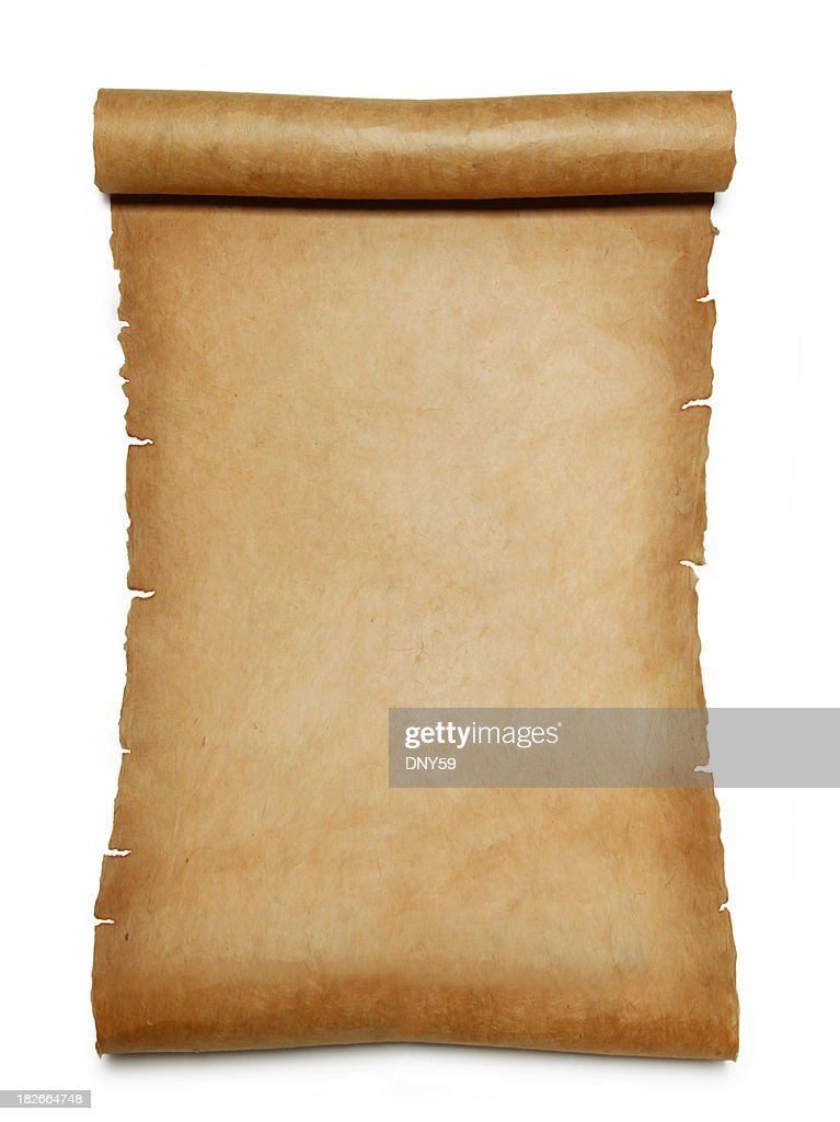 Paper Scroll : Stock Photo