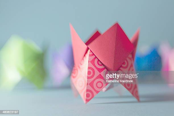 paper shapes - catherine macbride stock pictures, royalty-free photos & images
