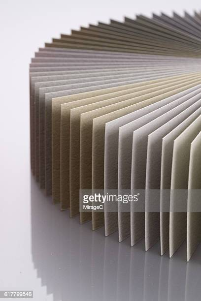 Paper Three-dimensional Pie Chart