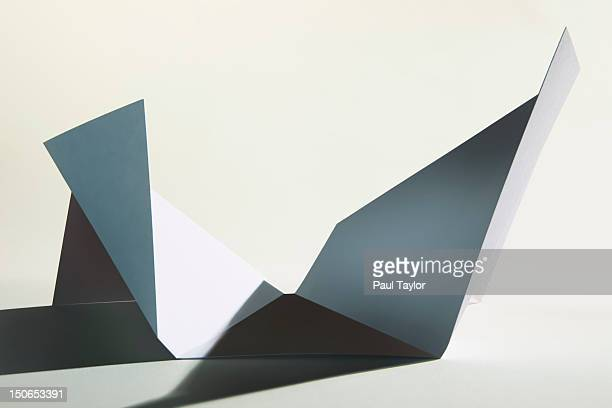 Paper with Abstract Folds