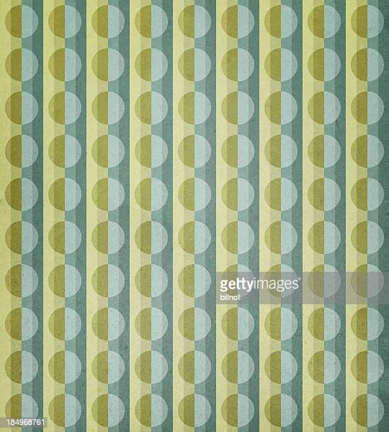 paper with circle and stripe pattern