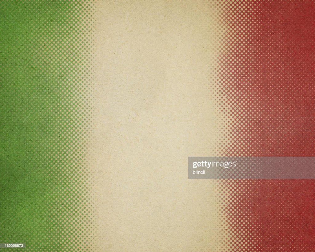紙、緑と赤のハーフトーン : ストックフォト
