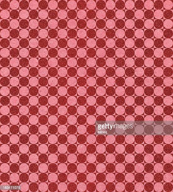 paper with modern circle pattern