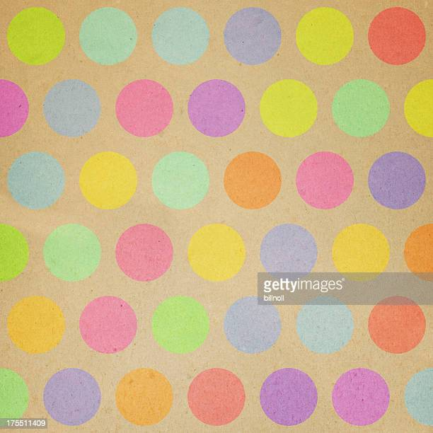paper with random color dot pattern