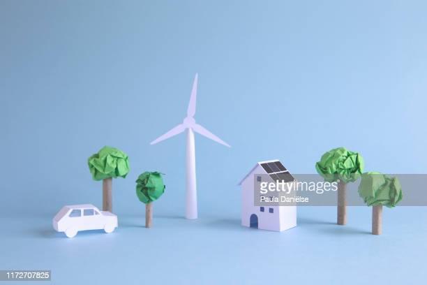 paper world - hållbara resurser bildbanksfoton och bilder
