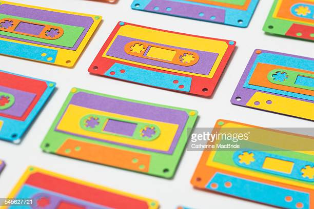 Paper-cut Cassette Tapes...