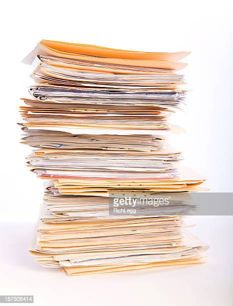 paperwork overload - stacking stock pictures, royalty-free photos & images