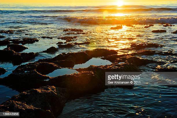 paphos sunset akamas peninsula - アカマス半島 ストックフォトと画像