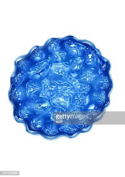 Papillomavirus Dna Virus, Hdri Image Made According To A View Under Transmission Electron Microscope, Viral Diameter 45 To 55 Nm. Papilloma Viruses...
