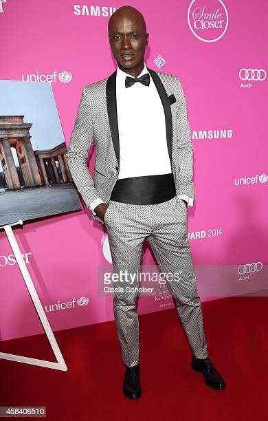 Papis Loveday attends the CLOSER Magazin Hosts SMILE Award 2014 at Hotel Vier Jahreszeiten on November 4, 2014 in Munich, Germany.