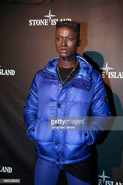 Papis Loveday attends the Store Opening Stone Island party at P1 club on October 16 2013 in Munich Germany