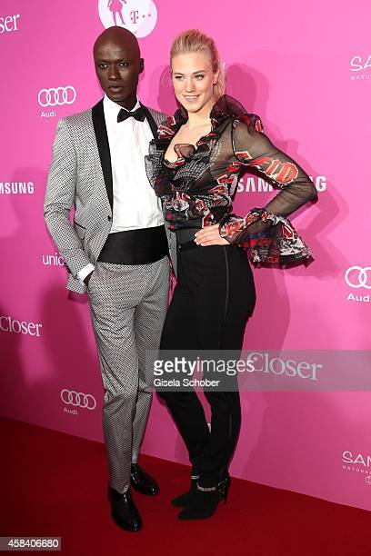 Papis Loveday Larissa Marolt attend the CLOSER Magazin Hosts SMILE Award 2014 at Hotel Vier Jahreszeiten on November 4 2014 in Munich Germany