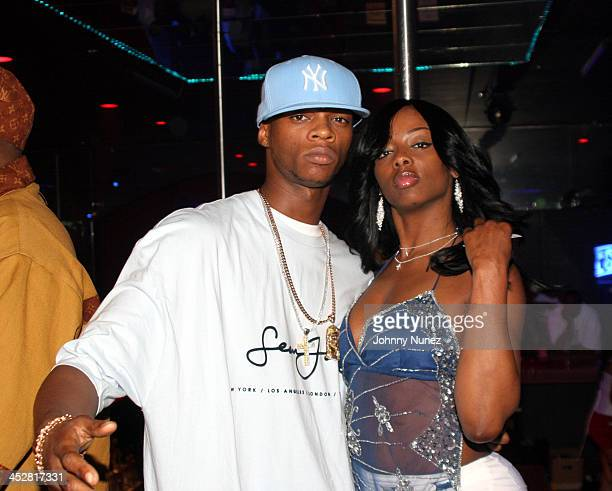 Papoose and Buffie The Body during DJ Kay Slay Birthday Smash Out Hosted by Buffie the Body at The Players Club in New York New York United States