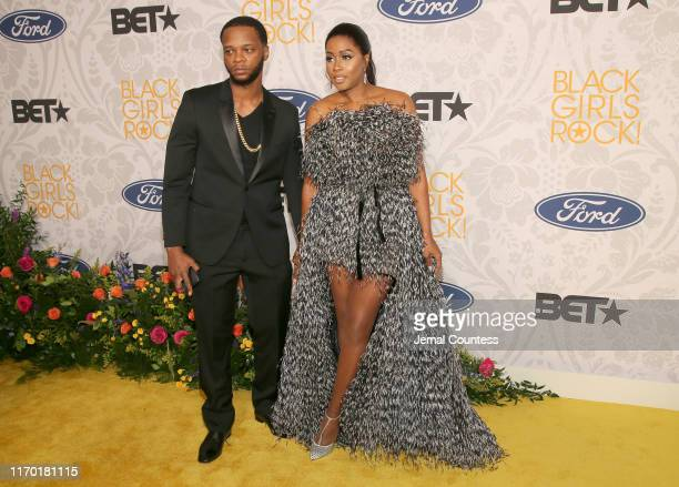 Papoose and Remy Ma attend Black Girls Rock 2019 Hosted By Niecy Nash at NJPAC on August 25, 2019 in Newark, New Jersey.