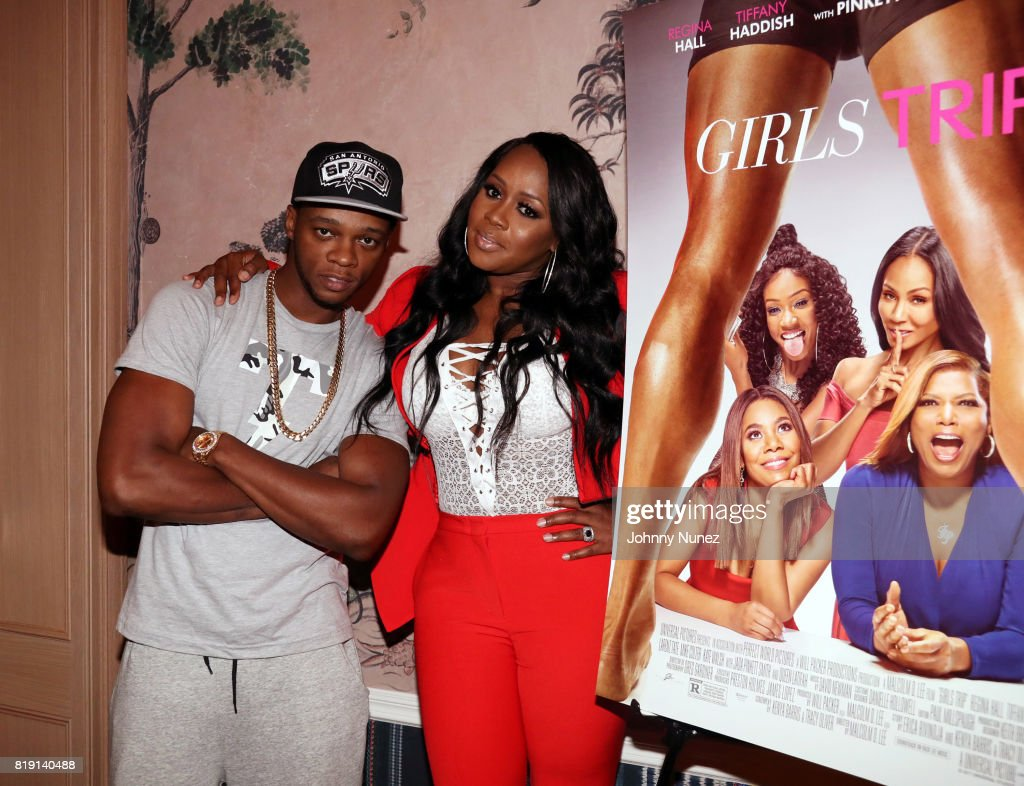 """""""Girls Trip"""" Screening Hosted By Remy Ma : News Photo"""