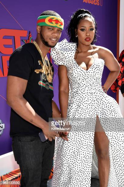 Papoose and Remy Ma attends the 2018 BET Awards at Microsoft Theater on June 24 2018 in Los Angeles California