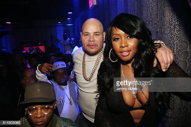 Papoose, Fred The Godson, Fat Joe, and Remy Ma attend the Fat Joe & Remy Ma Release Party at Club Aces on March 7, 2016 in New York City.