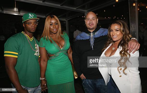 Papoose Remy Ma Fat Joe and Lorena Cartagena attend Haute Living Celebrates DJ Khaled And Nicole Khaled Presented By JetSmarter on June 6 2016 in New...
