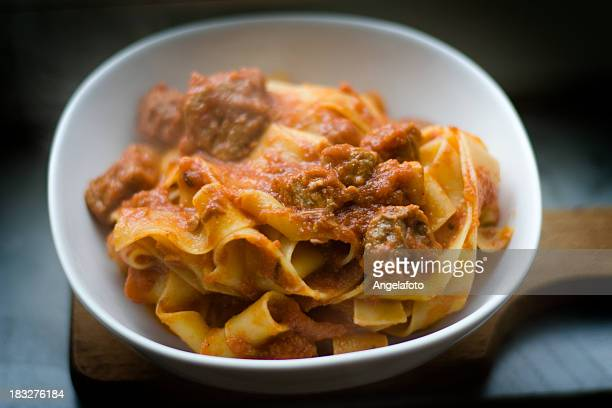 Pappardelle Pasta With Boar Ragout