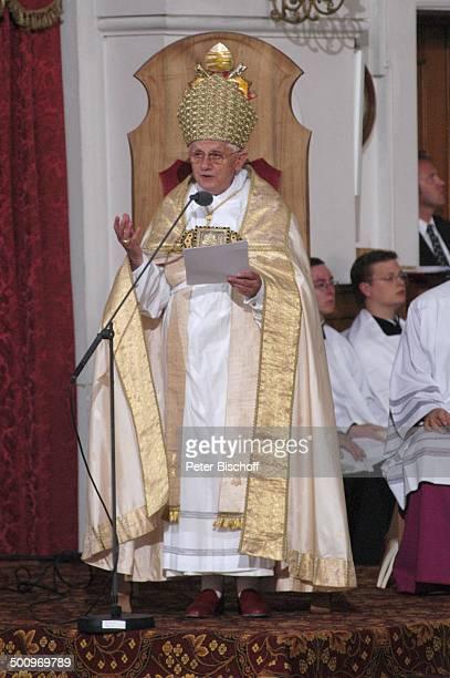 Papst Benedikt XVI Priester Marienvesper in Basilika St Anna Wallfahrtsort Altötting Bayern Deutschland PNr 1338/2006 Kirche VesperGottesdienst...