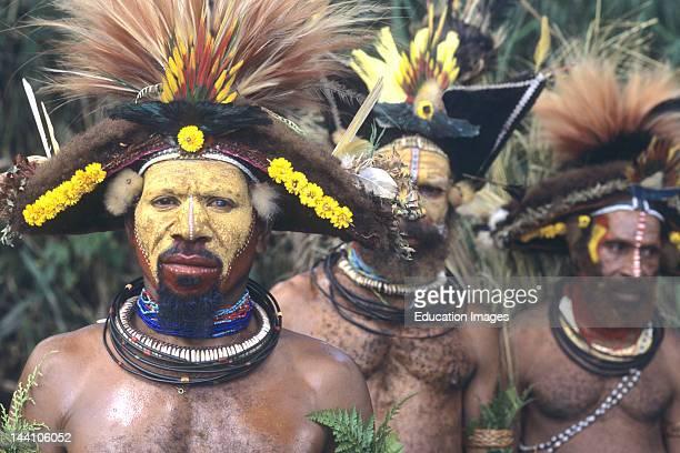 Papua New Guinea Huli Wigmen