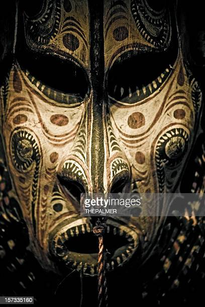papua new guinea mask - papua new guinea stock pictures, royalty-free photos & images
