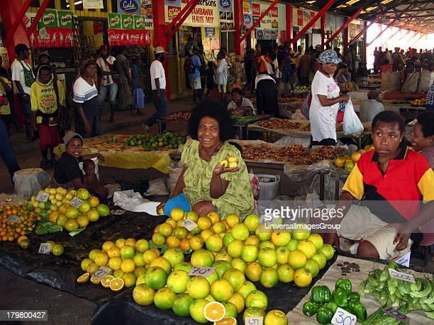Papua New Guinea Morobe Province Lae Farmers Market