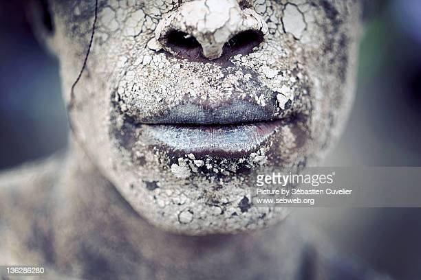 607 Warrior Face Paint Photos And Premium High Res Pictures Getty Images