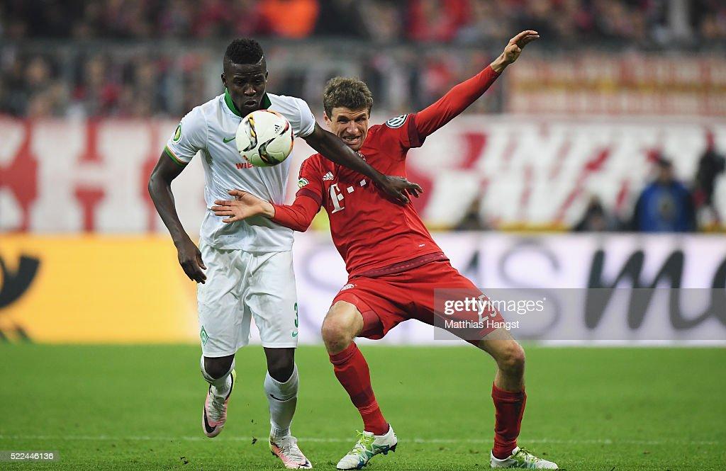 FC Bayern Muenchen v Werder Bremen - DFB Cup Semi Final : News Photo