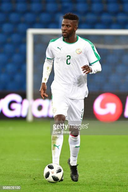 Papy Djilobodji of Senegal during the international friendly match match between Senegal and Bosnia Herzegovina on March 27 2018 in Le Havre France
