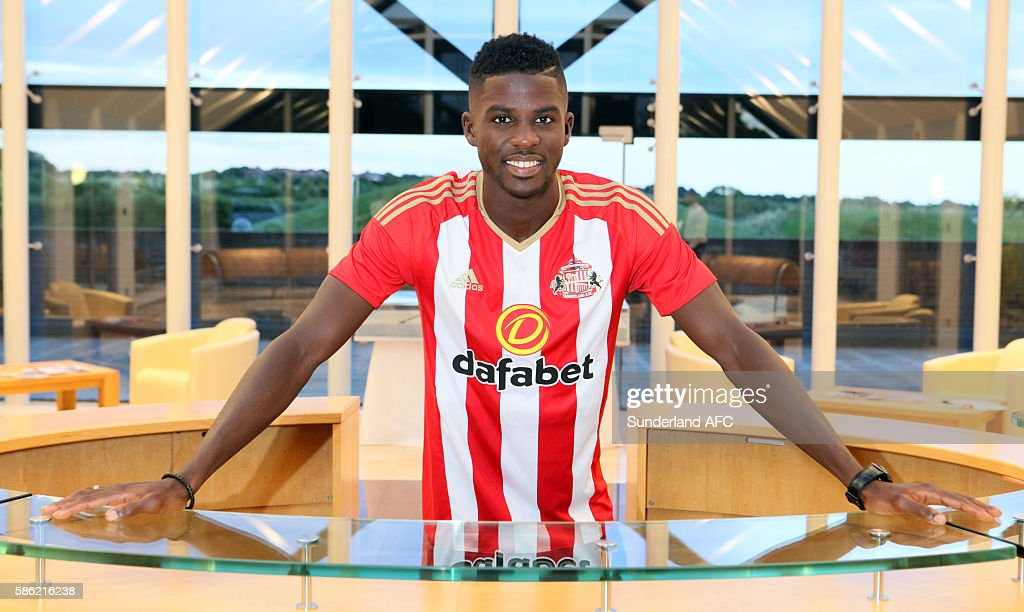 Sundelrand Unveil New Signing Papy Djilobodji : News Photo