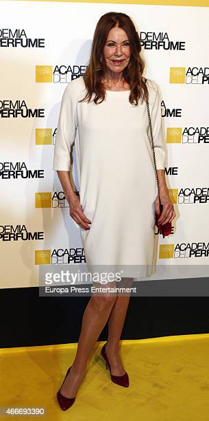 Paquita Torres attends 'Academia del Perfume' 2015 awards at Casa America on March 17 2015 in Madrid Spain