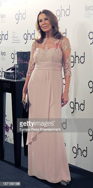 Paquita Torres attends Ghd Pink Project charity dinner on November 28 2012 in Madrid Spain