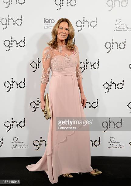 Paquita Torres attends Ghd Pink Proyect charity dinner at the Casino de Madrid on November 28 2012 in Madrid Spain