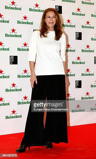 Paquita Torres attends the Heineken party at ARCO 2015 the International Contemporary Art Fair at Ifema on February 25 2015 in Madrid Spain