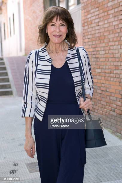 Paquita Torres attends the Petite Fashion Week fashion show on April 26 2018 in Madrid Spain