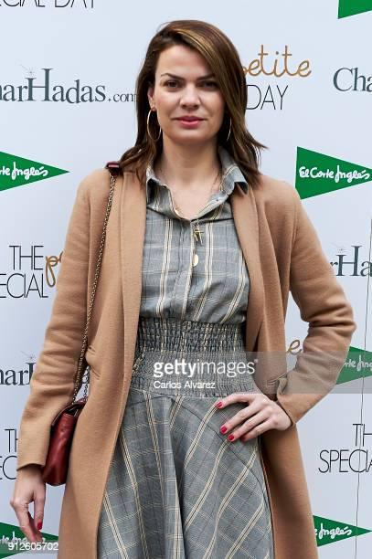Paquita Torres attends 'The Petite Special Day' at the Santo Mauro Hotel on January 31 2018 in Madrid Spain