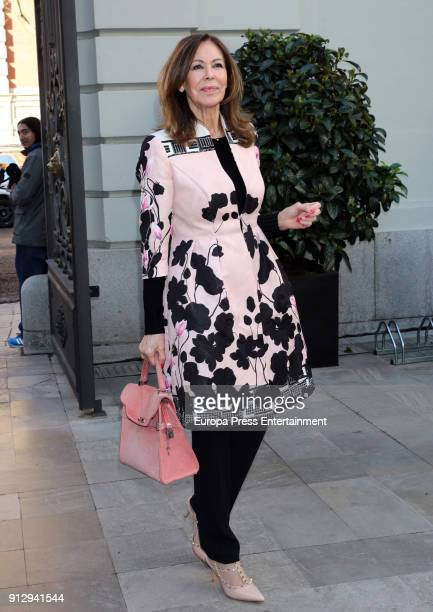 Paquita Torres attends 'The Petite Special Day' fashion show at the Santo Mauro Hotel on January 31 2018 in Madrid Spain