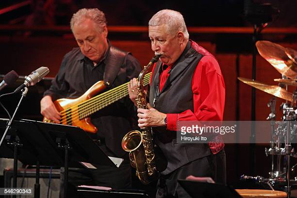 Paquito D'Rivera Around the Americas at Rose Theater on Friday night March 27 2015This imagePaquito D'Rivera on alto saxophone with Oscar Stagnaro on...