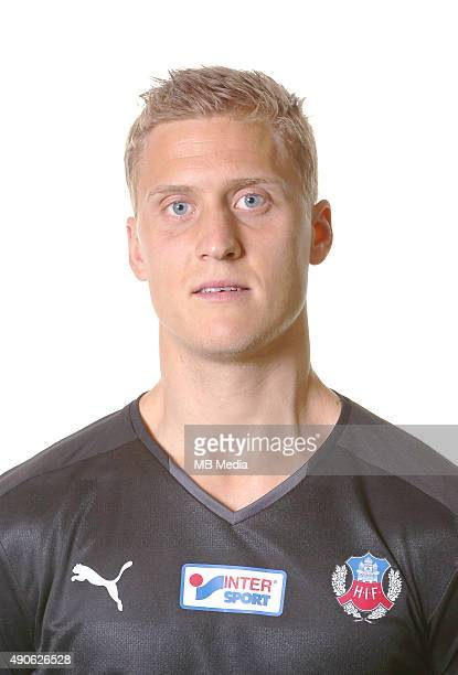 Par Hansson of Helsingborgs IF poses during a portrait session on March 11 2015 in HelsingborgSweden