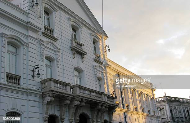 Pará State Museum - Palace Lauro Sodré, old headquarters of the State Government, dated of 1772. Architect's Antônio José Landi work, in the...