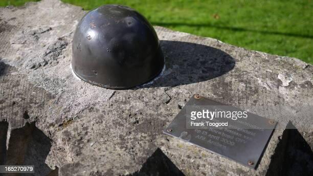 Para Helmet Memorial by John Frost Bridge