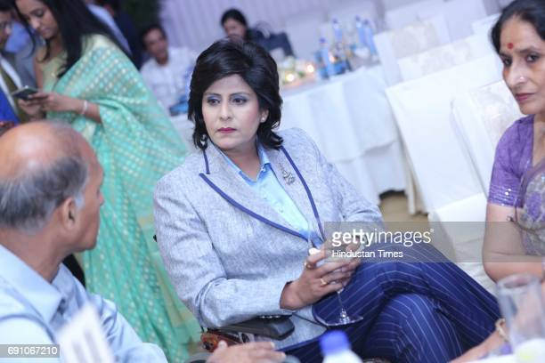 Paraathlete and Game Changer Awardee Deepa Malik during the Hindustan Times Game Changer Awards 2017 at Hotel Oberoi on May 24 2017 in Gurgaon India