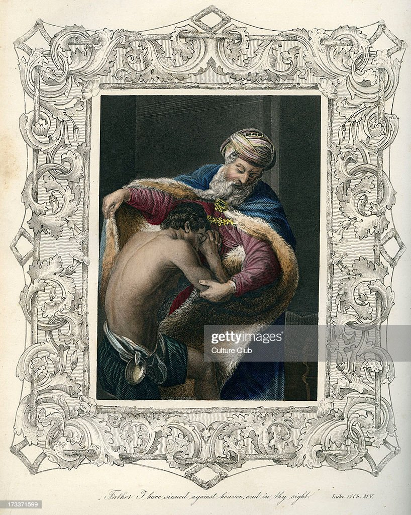 Parable of the prodigal son - Bible, New Testament : News Photo